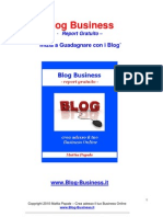 Blog Business - Report Gratuito