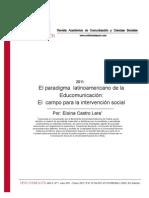 El Paradigma Latinoamericano de La Educomunicacion