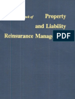 A Reference Book of Property and Liability Reinsurance Management - By Robert Reinarz, 1969