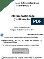 Aula 01-02-2013 Heterocedasticidade
