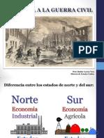 Antesala de La Guerra Civil 1850 Revisada