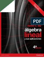 Algebra Lineal y Aplicaciones David C. Lay 4ed