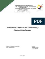 Seleccion Del Conductor Por CC y FT