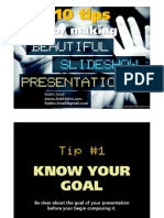 10 Tips to Make Presentation