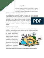 Definicion Geografia y Ecologia