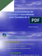2Dimensionamiento de Sistemas de Bombeo Fotovoltaico