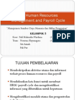 Human Resources and Payroll Cycle Presentation and all about outsourcing