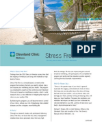 Stress Free Now Flyer - So employers can take the PSS out of their employees