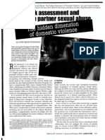 Risk Assessment and Intimate Partner Sexual Abuse