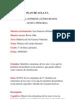 Plan de Aula (Ciencias Naturales).