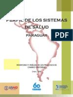 Perfil Sistema Salud-Paraguay 2008