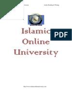 Arabic Reading Writing Module 4-Bilal Philips-C-www.islamtreasure.com
