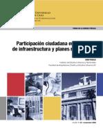 Participación Ciudadana en Proyectos de Infraestructura y planes reguladores, Ivan Poduje