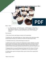 Coffee Cupcake With Chocolate Surprise