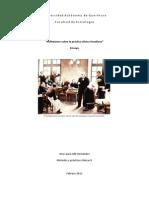Sobre la teoría y práctica clínicas en Freud