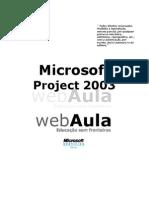 Apostila de Project 2003