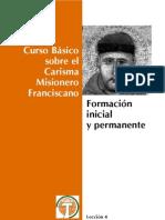Curso de Carisma Franciscano