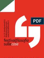 Programma Festival Filosofia di Modena 2012