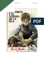 01 Los Cinco y El Tesoro de La Isla