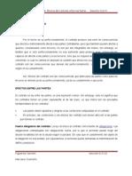 Efectos Del Contrato (Resumen)