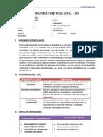 Programacion Curricular Anual2011 120118031524 Phpapp02