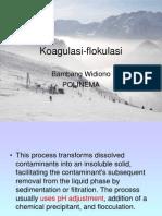 Koagulasi-flokulasi