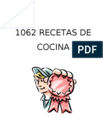 1062 Recetas de Cocina