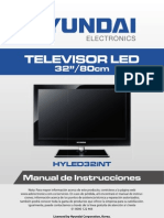 Hyled32int for Hyundai Spanish Manual