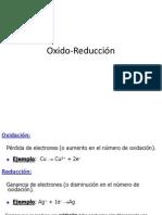 Oxido-Reducción