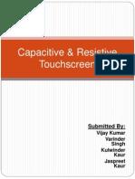 Touchsreen Technology