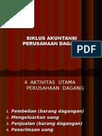 2.Siklus Akuntansi Perusahaan Dagang