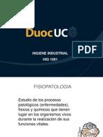 U2, Agentes químicos clasificación fisiopatológic