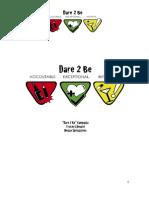 Dare2Be Campaign Plan Book