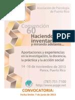 Convocatoria convención APPR 2013