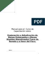 Manual de Enajenacion y Adj de Bienes Fuera de Remate