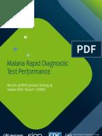 Full Report Malaria RDTs
