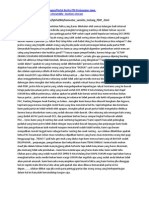Komentar Sasmito Tentang PDIP Dan DCS PDIP DPRD II Kota Malang