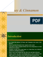 Ppt Honey and Cinnamon