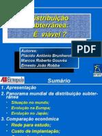 DISTRIBUIÇÃO SUBTERRANEA E VIAVEL