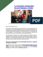 Indultos a Terroristas Peruanos Firmados Por Paniagua y Toledo