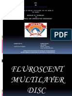 Fluorescent Multilayer Disc Seminar PPT Download