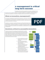 Innovation & Change Management