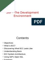 01_SAP - The Development Environment
