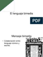 El Lenguaje Bimedia (1)