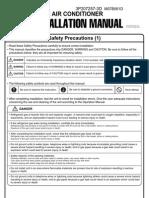 3MXS24JVJU Installation Manual