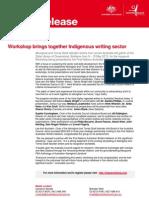 Workshop Brings Together Indigenous Writing Sector