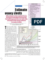 Estimation of Utility Costs