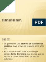 Funcionalismo y Conductismo