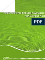 Model municipal domestic wastewater management plan.pdf