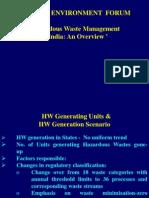Haz Waste Mgt India State
